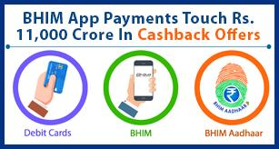BHIM App Payments Touch Rs. 11,000 Crore In FY18 Amid Cashback Offers