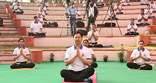 Online Yoga training programme in run-up to International Day of Yoga 2021