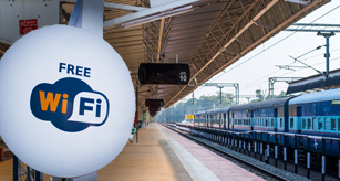 Wi Fi kiosks at 500 remote railway stations to provide online services